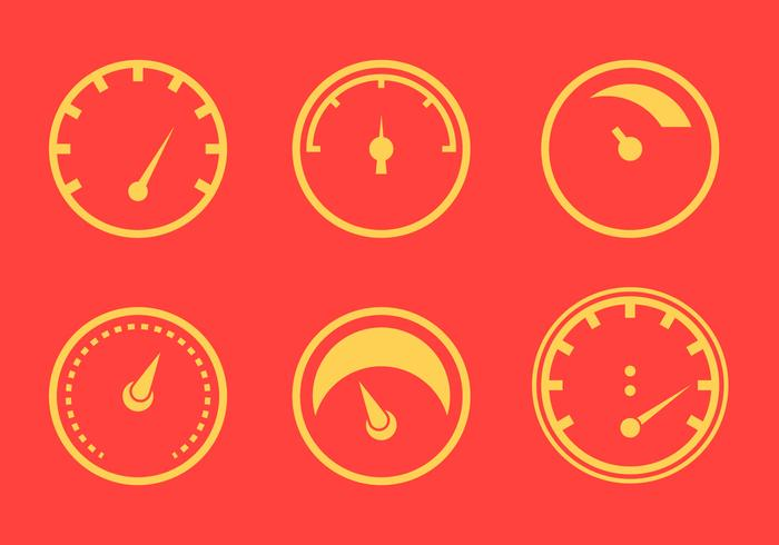 Free Tachometer Vector Graphic 1