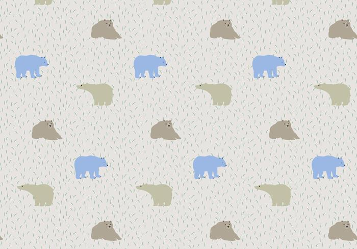 Bear Pattern Background