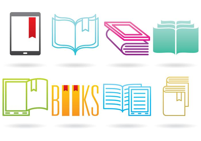 Books And E Reader Logos