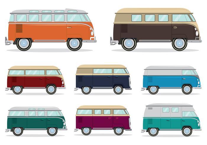 Volkswagen Camper Bus Vector Download Free Vector Art