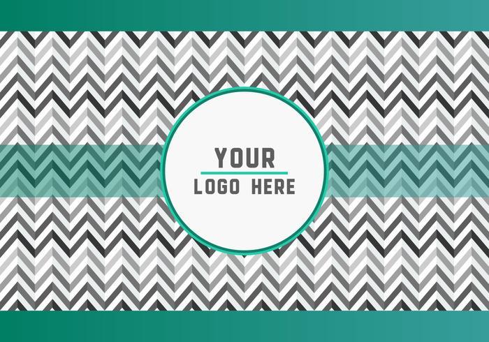 Free Gray Geometric Logo Background