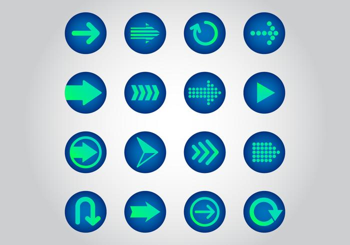 Free Arrow Vector Icons