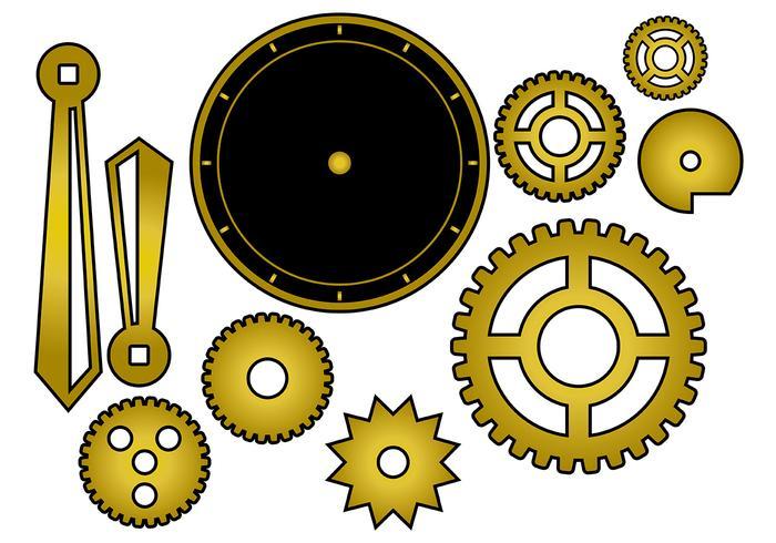 Free Clock Parts Vector