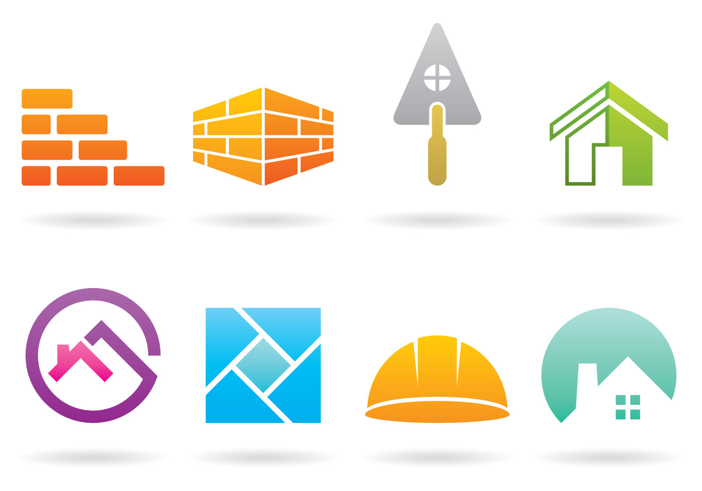 Bricklayer Logos Download Free Vector Art Stock