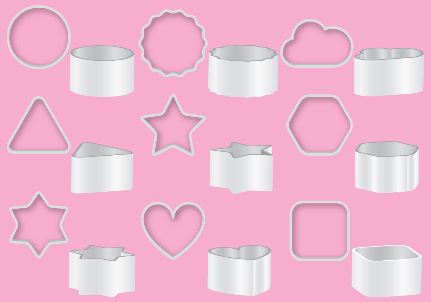 Cookie Cutters Download Free Vector Art Stock Graphics