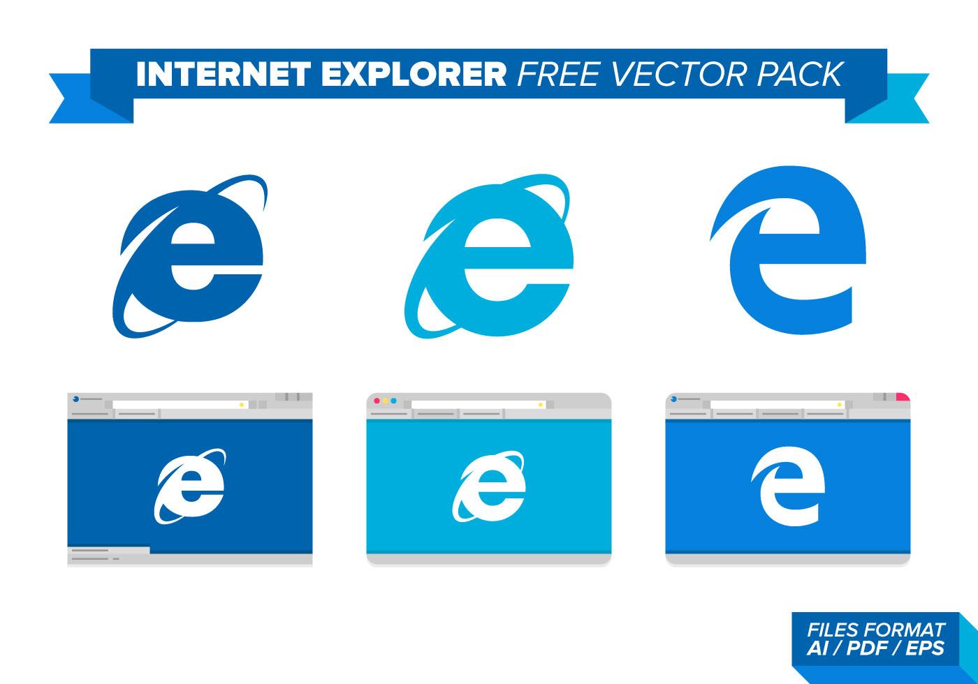 Internet Explorer Free Vector Art