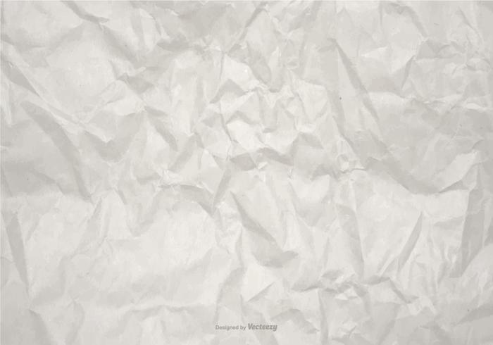 Wrinkled Vector Paper Background