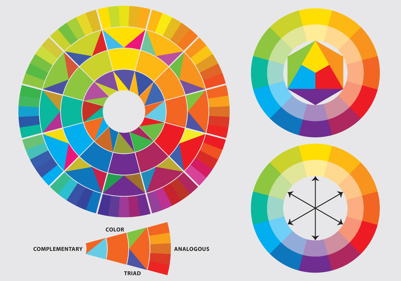 Color Wheels Download Free Vector Art Stock Graphics Images