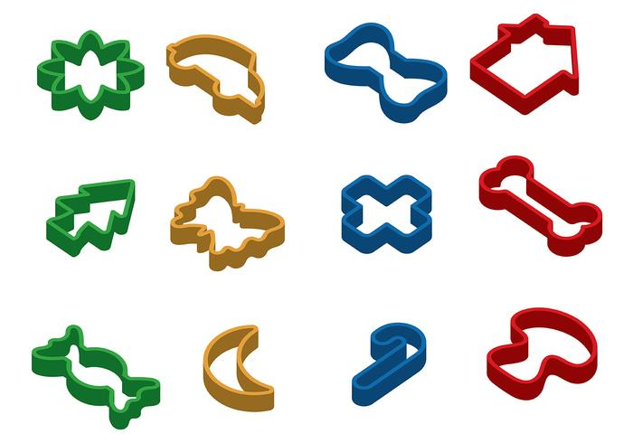 Cookie Cutter Vector