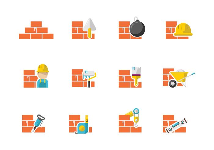Free Bricklayer Vectors