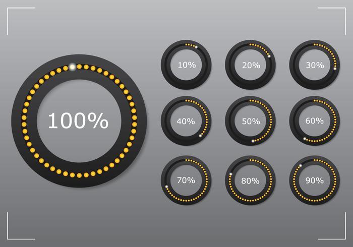 Circle Preloader Set