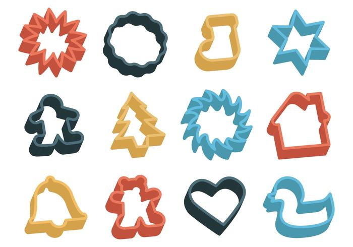 Free Cookie Cutter Vector