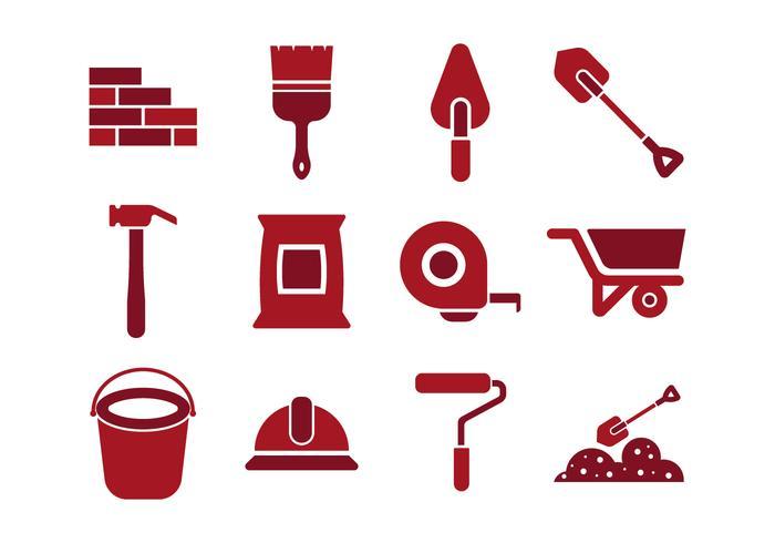 Free Bricklayer Icon Vectors