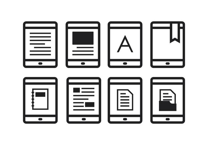 Icônes E-Reader gratuites