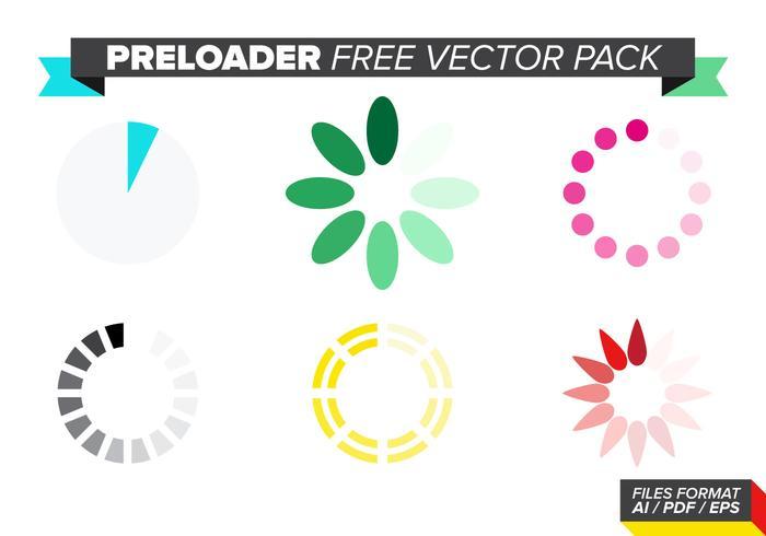 Preloader Free Vector Pack