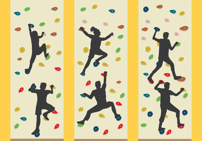 Climbing Wall Vector - Download Free Vector Art, Stock Graphics & Images