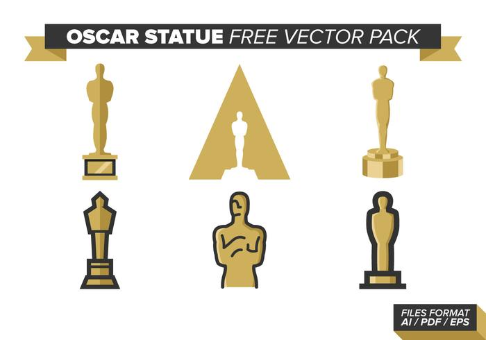 Oscar Statue Free Vector Pack
