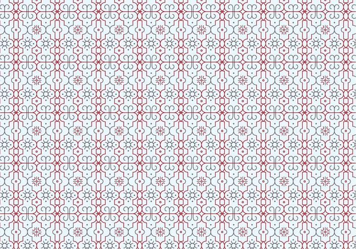 Outlines Decorative Pattern