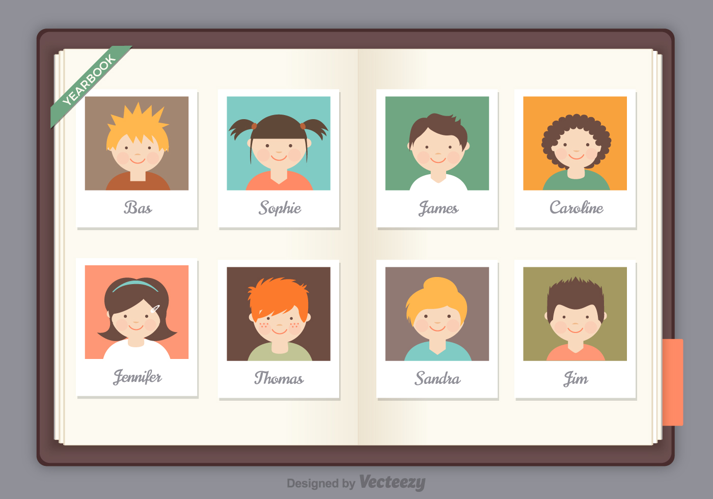 free online yearbook templates - free yearbook vector download free vector art stock
