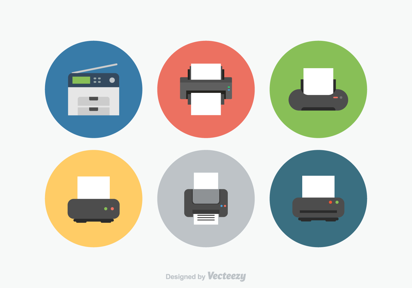 Printer Vector Icons Download Free Vector Art Stock