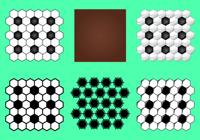 Free Football Texture Vector