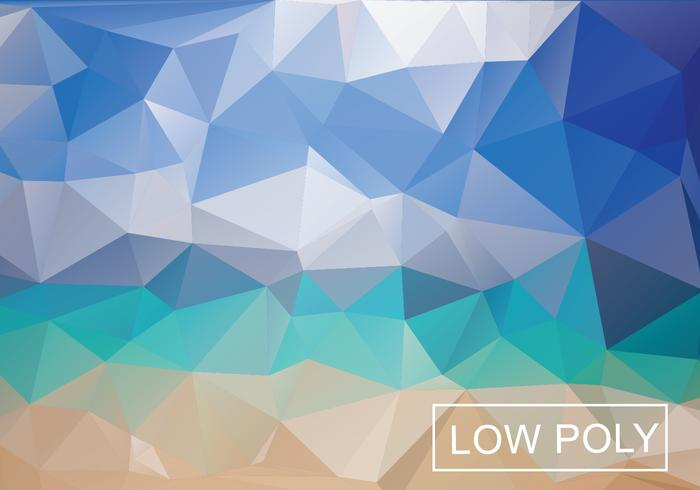 Multicolor Geometric Low Poly Vector Background