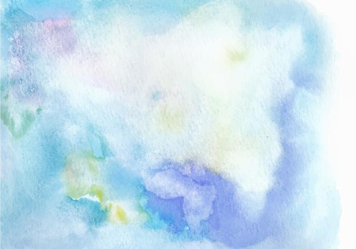 Light Blue Free Vector Watercolor Texture