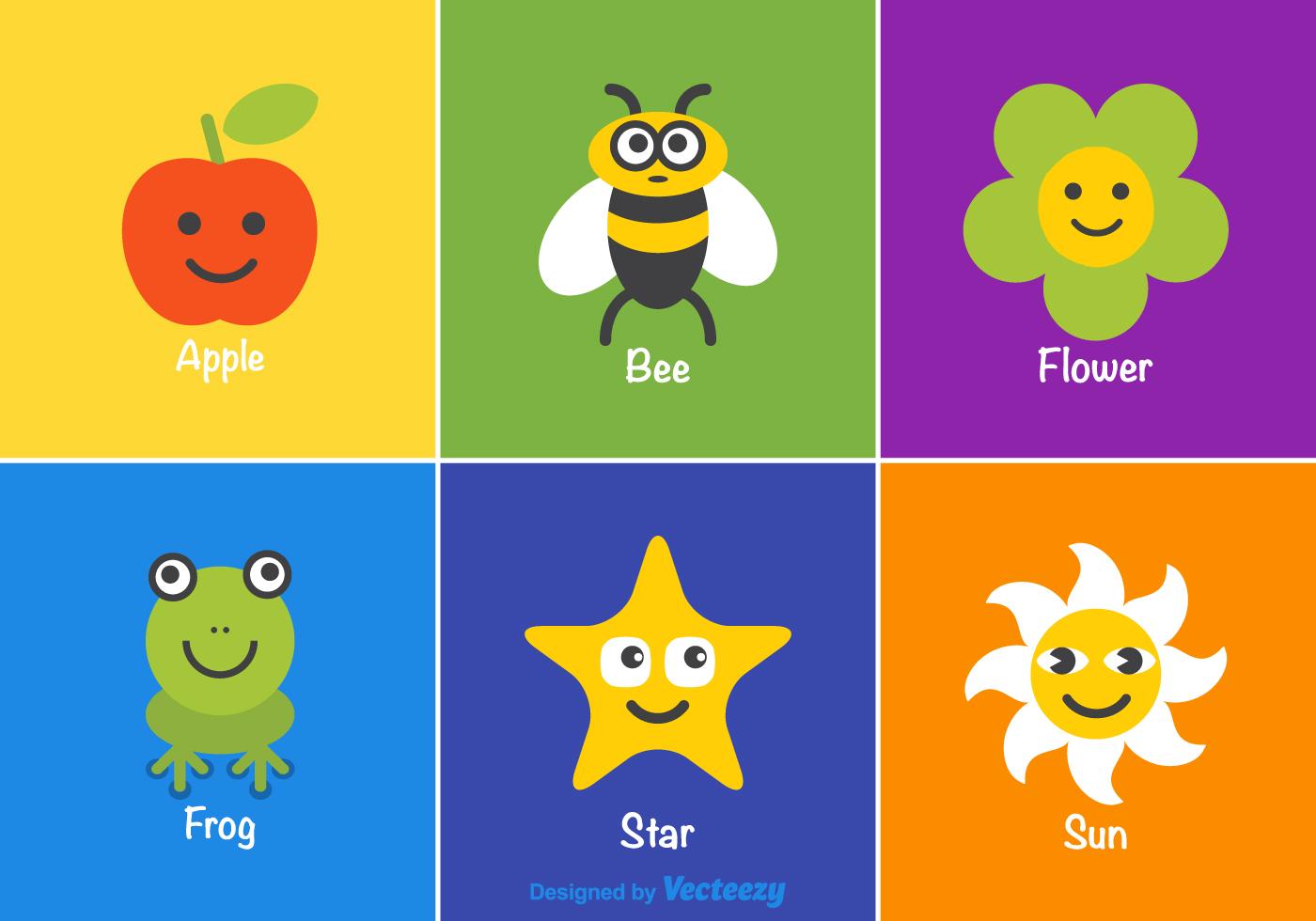 Vector Cartoon For Free Download About 5 514 Vector: Vector Cartoon Kids Stuff