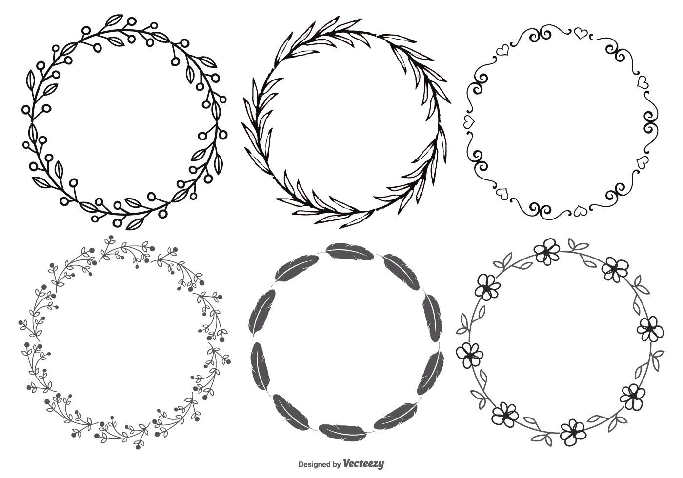Circle Frame Free Vector Art - (11336 Free Downloads)