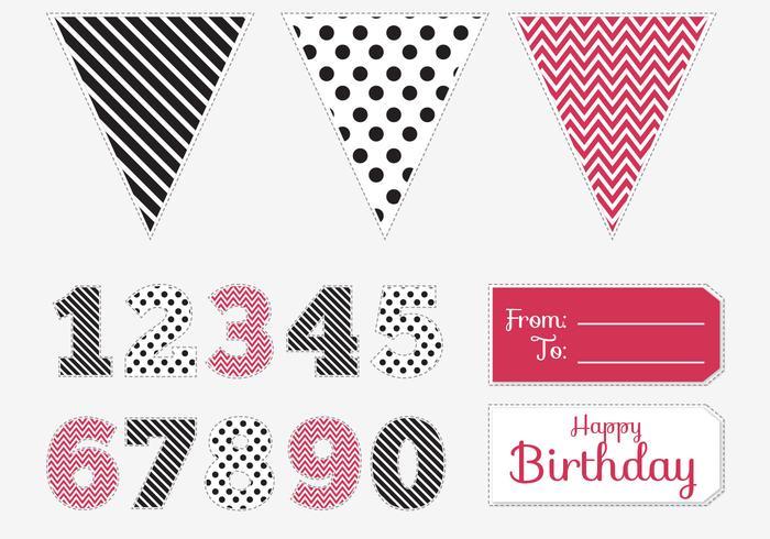 Birthday Pintable Pack