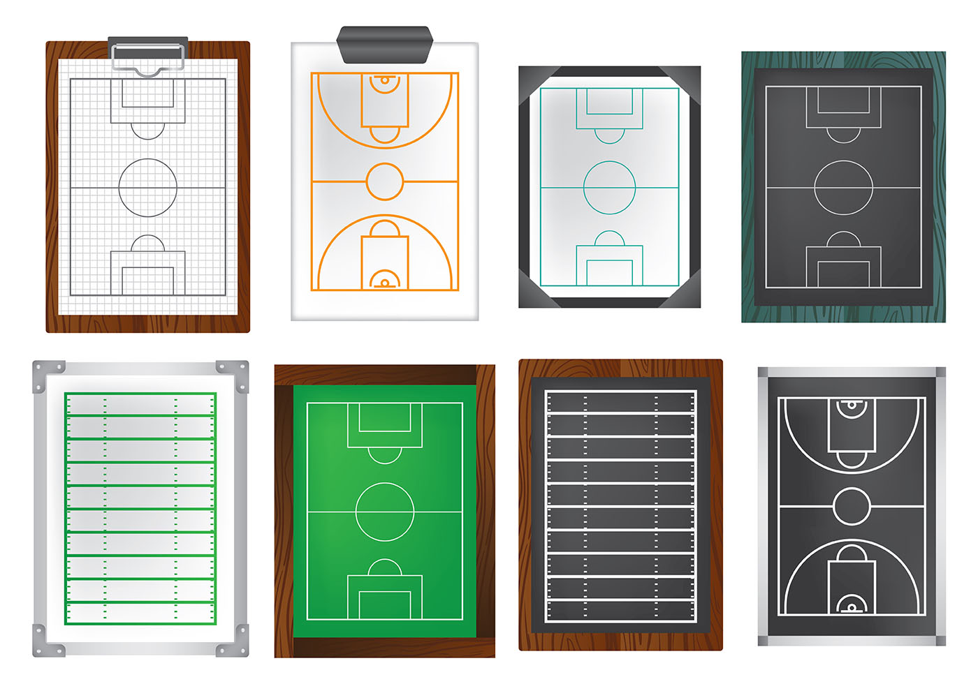 Free Playbook Icons Vector - Download Free Vectors ...