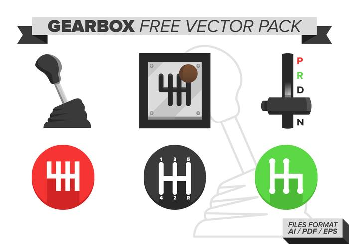Caja de engranajes gratis Vector Pack