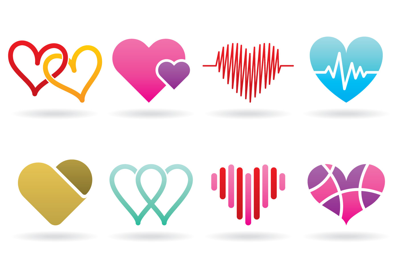 Broken Heart Logo Design