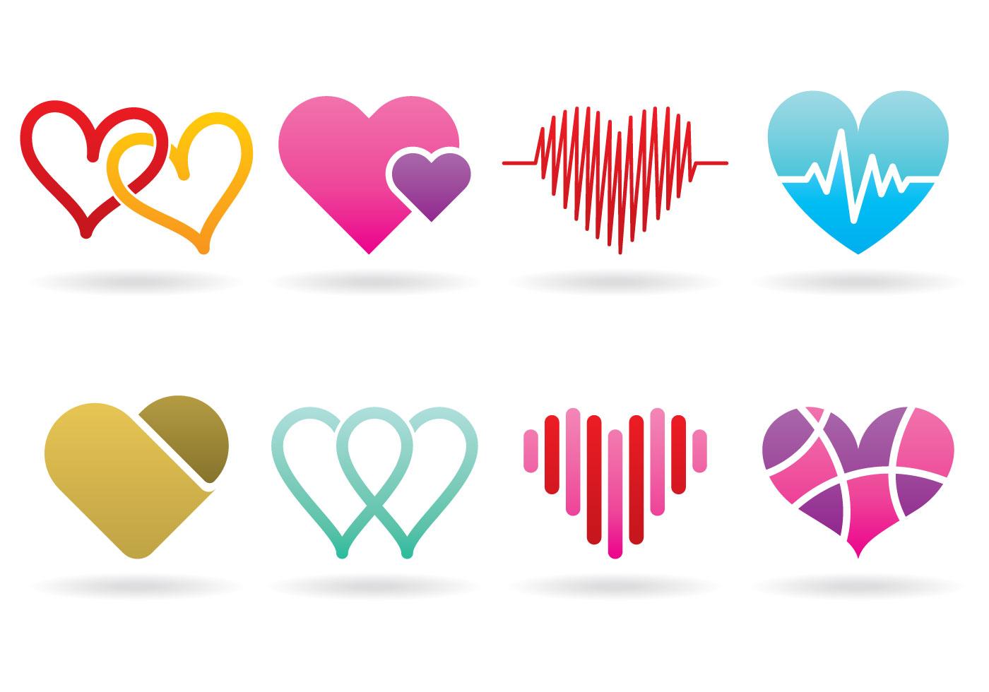 heart logos download free vector art stock graphics