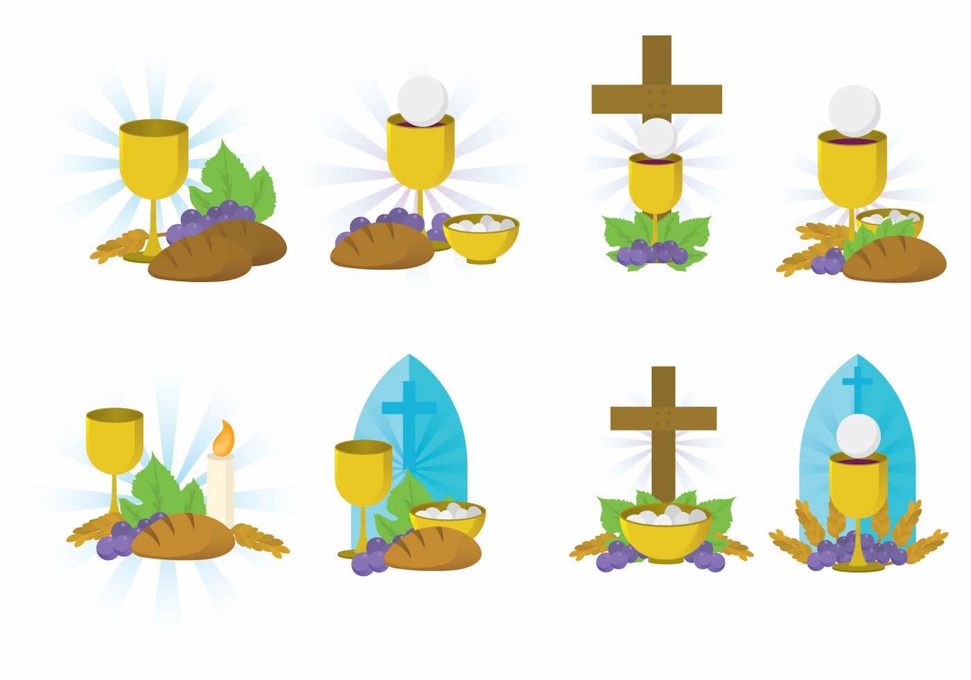 eucharist vector set