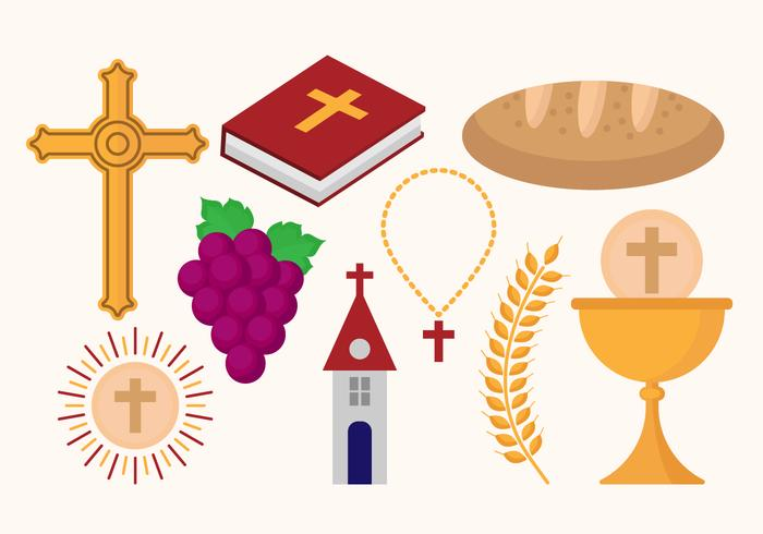 Free Eucharist Icons Vectors