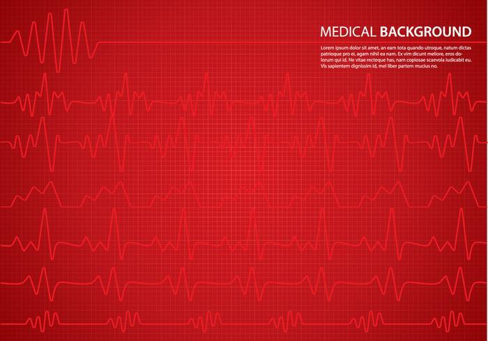 Sfondo di monitor di cuore