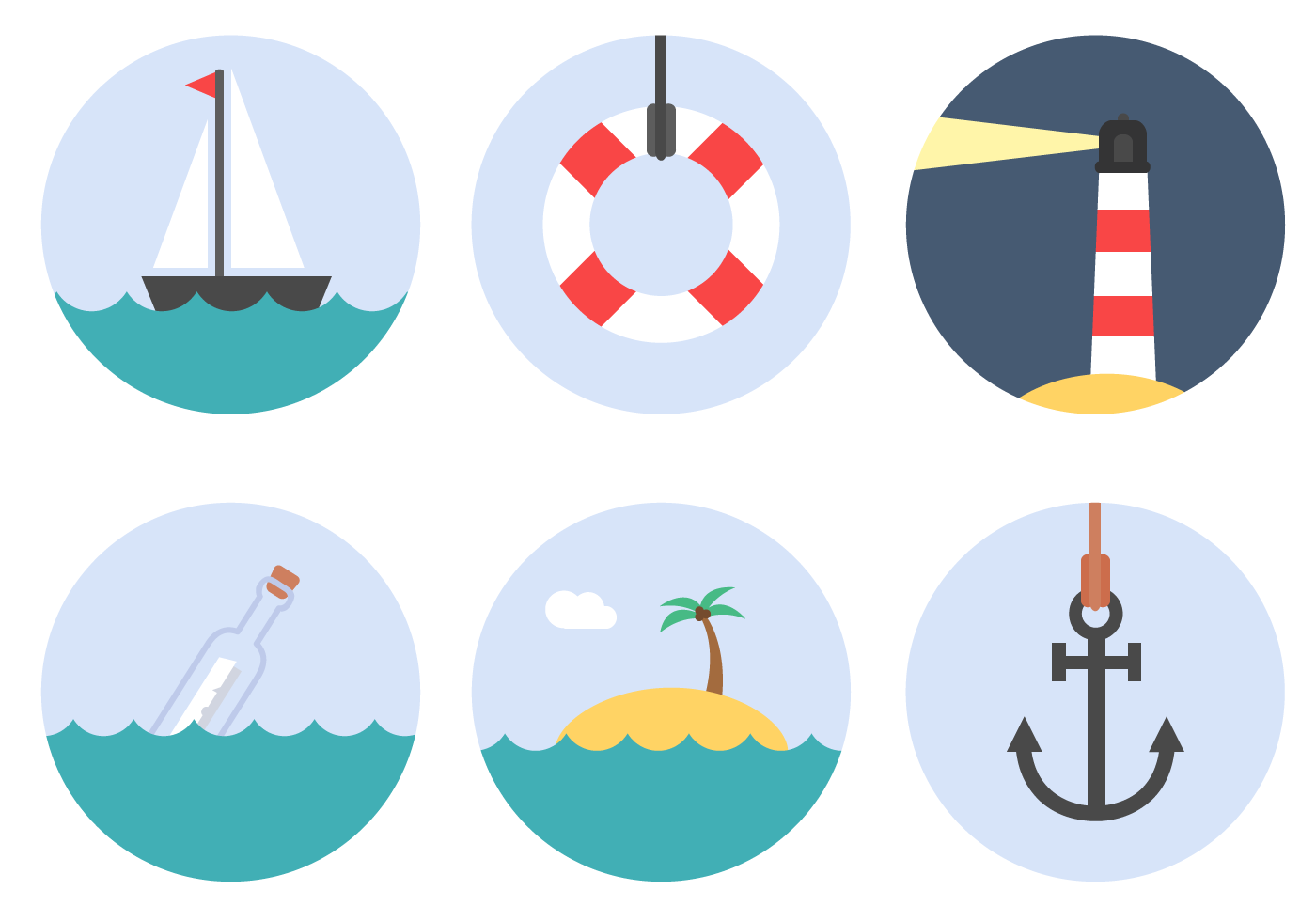Free Nautical Elements Vector Download Free Vector Art Stock Graphics &
