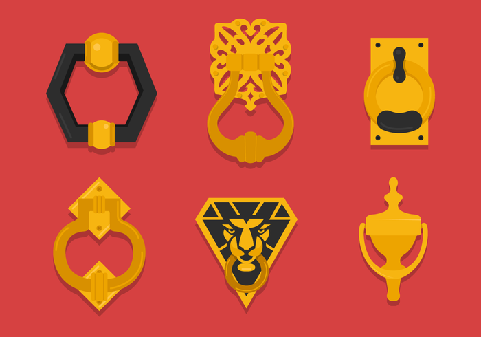 Door Knocker Vectors
