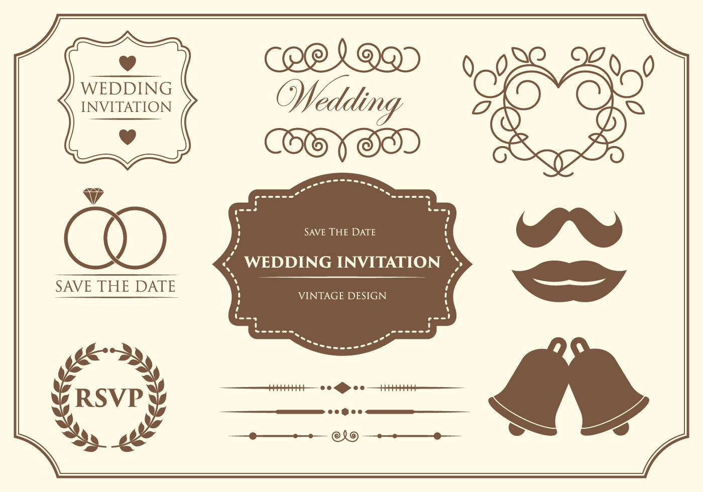 Wedding ornament free vector art 9073 free downloads stopboris Gallery