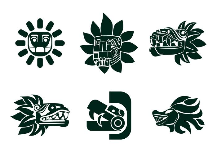 Vector Quetzalcoatl