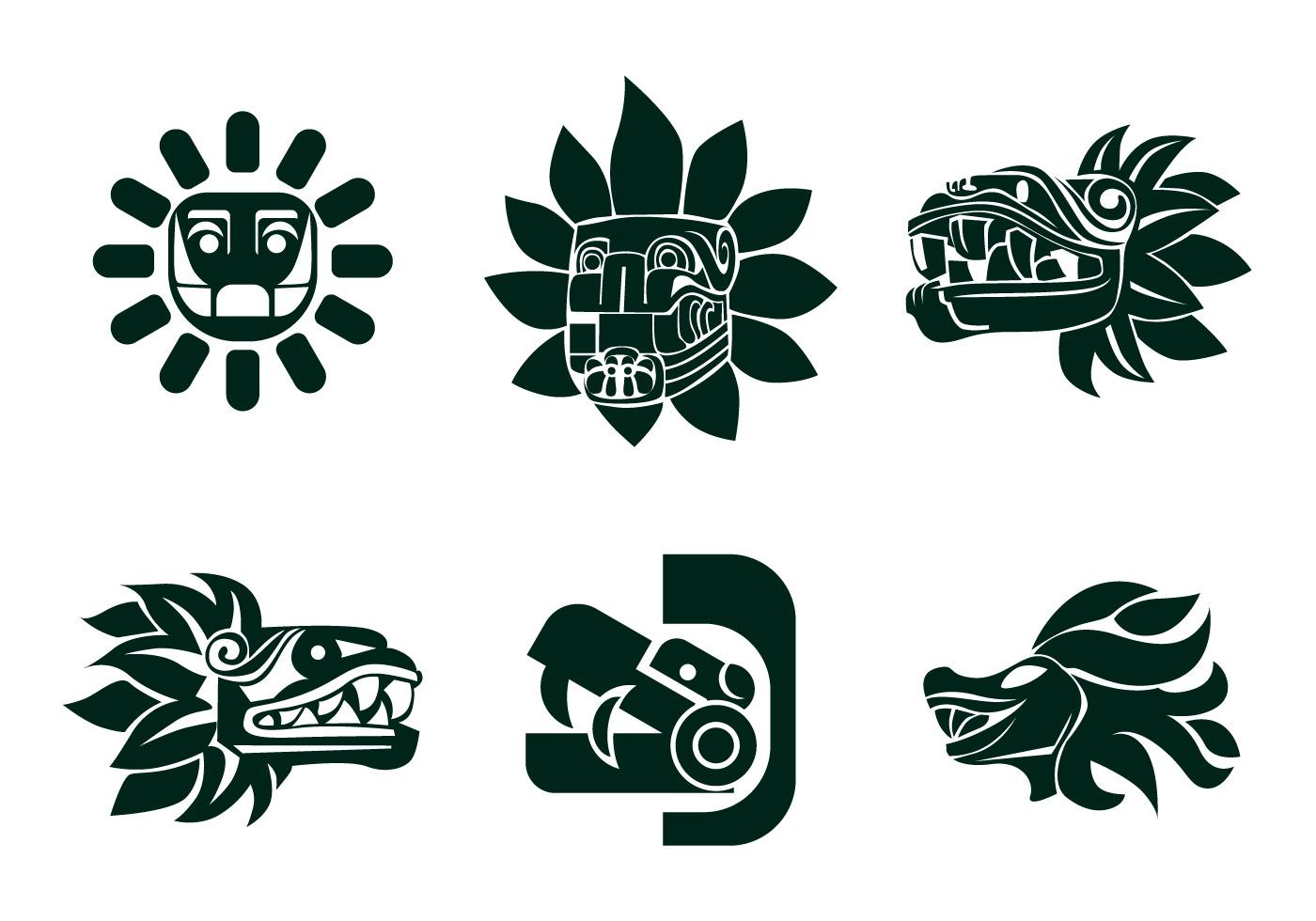 Aztec Skull Vector - Download 627 Vectors (Page 1)