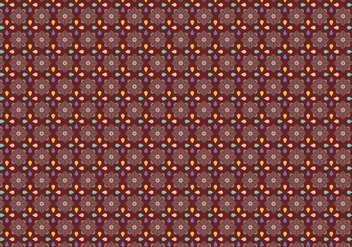 Padrão de mosaico de pétala