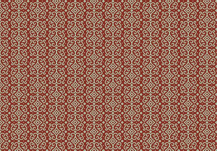 Outline Mosaic Pattern vector