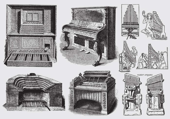 Ancient Pipe Organs