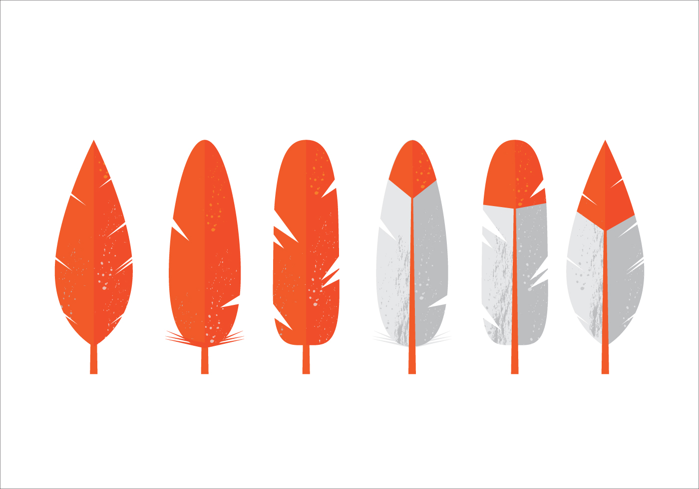 Vector Feathers - Download Free Vector Art, Stock Graphics ...