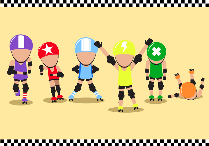 Free Roller Derby Vector