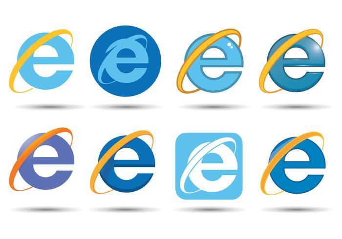 Vecteur internet explorer