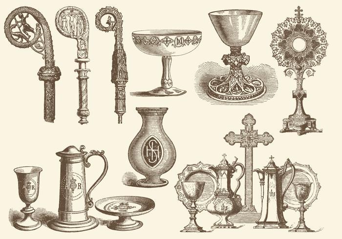 Eucharistie et objets liturgiques