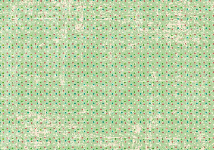 Grunge Polka Dot Background
